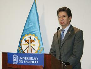 Pedro Sánchez Gamarra, Ministro de Energía y Minas de Perú