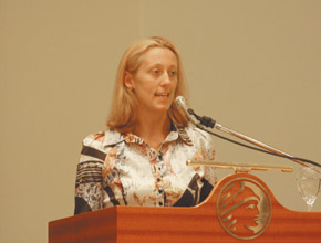 Elisa Tonda, representante regional de Apell.