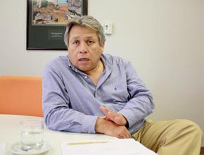Carlos Santa Cruz, Vicepresidente del Comité Minero de la Sociedad Nacional de Minería Petróleo y Energía (SNMPE); y Vicepresidente de Operaciones de Newmont Sudamérica.