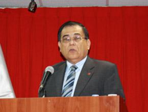 Ing. Gustavo Luyo, director del Consejo Departamental de Lima del Colegio de Ingenieros del Perú