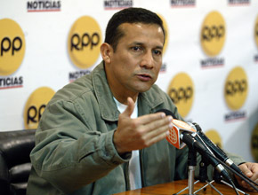Ollanta Humala.