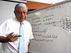 Ing. Walter Casquino, presidente de del INGEMMET.