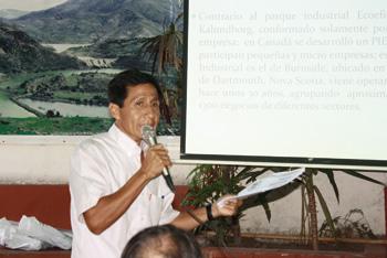 Eduardo Bancayan, promotor de los Parques Mineros Industriales Ecoeficientes