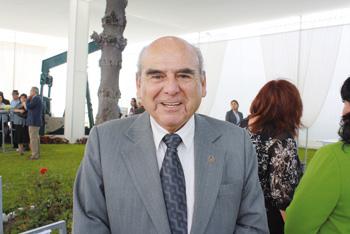 Miguel Carrizales. Presidente del Instituto de Ingenieros de Minas del Perú