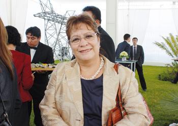 Yolanda Laumer, directora de la Minera San Pedro de Corongo