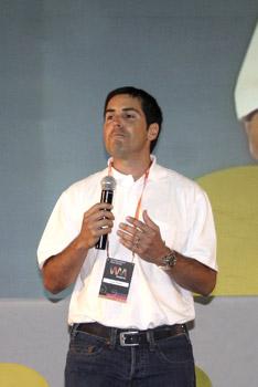 Juan Francisco Rojas, director ejecutivo de la Academia Wayra
