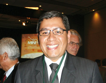 Iván Lanegra, Viceministro de Cultura.