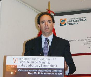 Juan Luis Kruger, gerente general de Gold Field La Cima S.A.A.