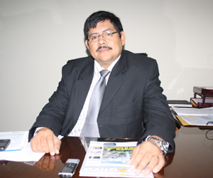 Daigoro Chagua León,  gerente de Relaciones Comunitarias  de la minera Anabi.
