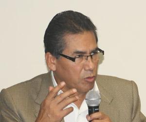 Responsable del área Vigila-Perú de Propuesta Ciudadana, Epifanio Baca