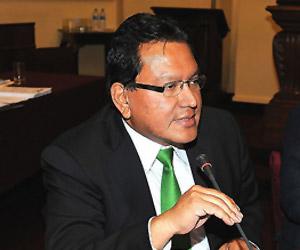 Presidente regional del Callao, Felix Moreno
