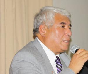 Vicepresidente regional de Tacna, Franklie Elvis Kuong Delgado.