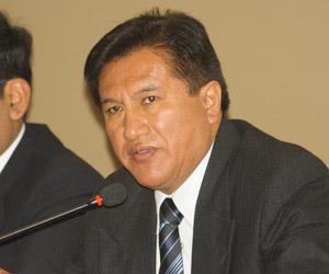 Joel Díaz Lazo, gerente de OSINERGMIN.