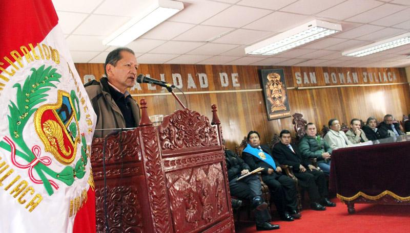 Jorge Merino Tafur, ministro de Energía y Minas.