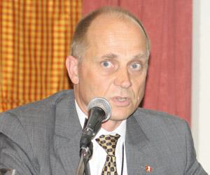 Laurids Uglvig, director de Operaciones de APM Terminals.