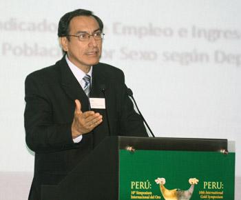 Presidente regional de Moquegua, Martín Vizcarra