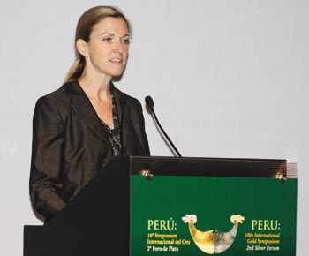 Maureen Upton, asesora de Sostenibilidad  de World Gold Council.