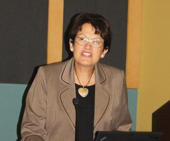 Nicole Bernex, directora Académica del Centro de Investigación en Geografía Aplicada de la Pontificia Universidad Católica del Perú (PUCP)
