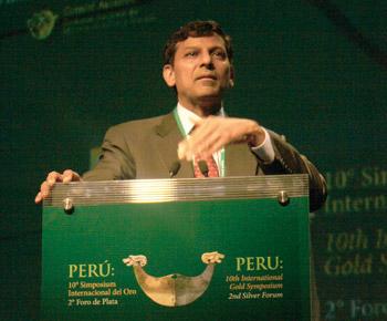 Raghuram Rajan, economista internacional.