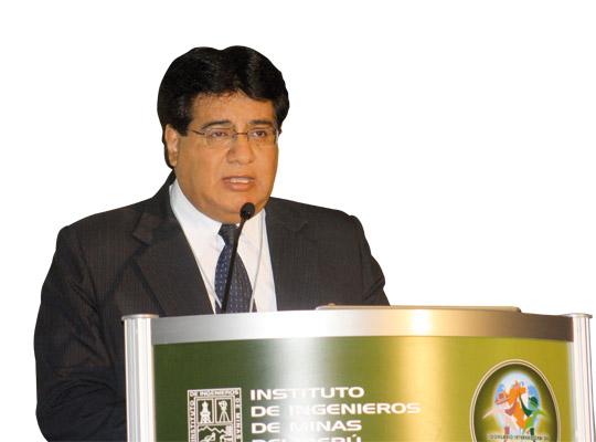 Hugo César Espinoza Palza, gerente general del gobierno regional de Moquegua.