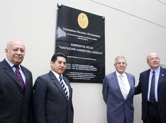 José Martínez Talledo, Aurelio Padilla Ríos, Guido Del Castillo Echegaray y Edwilde Yoplac Castromonte.