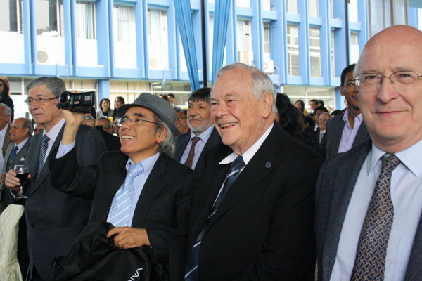 Ex presidentes de Ingemmet, científicos y profesionales se dieron cita.
