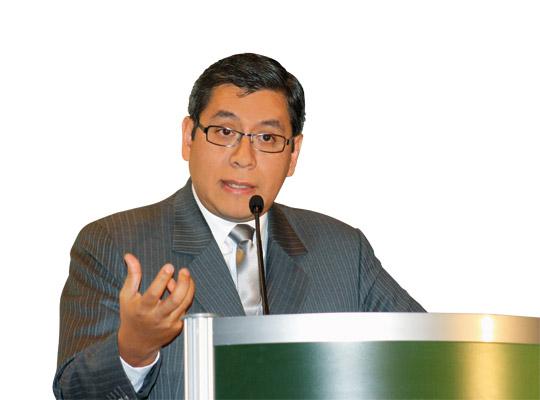 Iván Lanegra, viceministro de Interculturalidad.