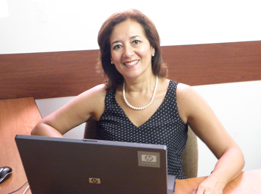 Rossanna Arboccó, gerente de administración de Perú 2021.