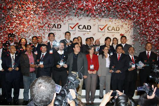 Premio CAD a las Buenas Prácticas en Gestión Pública 2012
