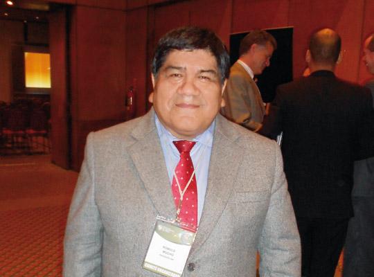 Rómulo Mucho, presidente del Instituto de Ingenieros de Minas del Perú (IIMP).