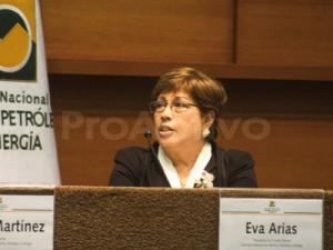 Eva Arias, presidenta del Comité de Minería de la SNMPE.
