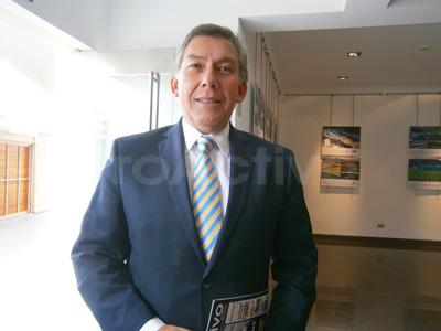 Pedro Martínez, presidente de la Sociedad Nacional de Minería, Petróleo y Energía (SNMPE).