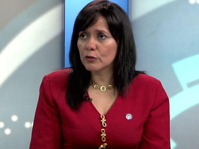 Rosario Patiño, representante del Ministerio de Energía y Minas (Minem).