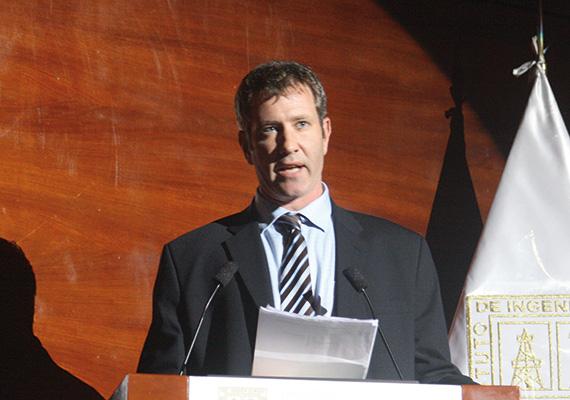 Vicepresidente y gerente general de Hudbay en Perú, Cashel Meagher.