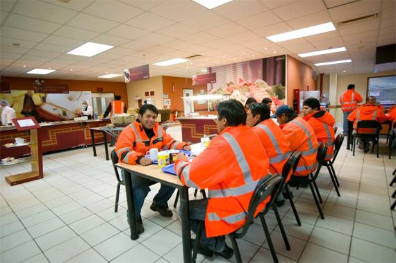 Nuevas instalaciones para el personal de Lagunas Norte