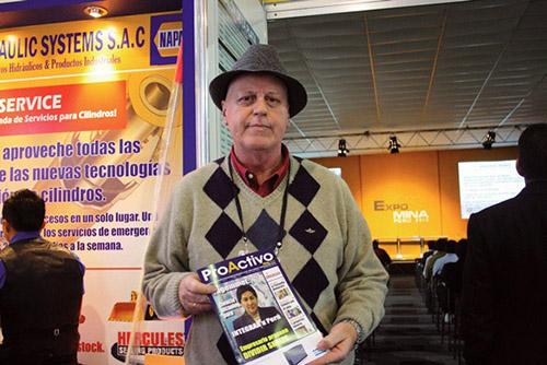 Kurt Castro Werner, Gerente de Ventas Zona Centro-Sur de Segurindustria S.A.