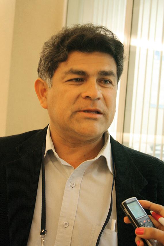 Director regional de Energía y Minas de Lambayeque, Miguel Verona Velásquez.