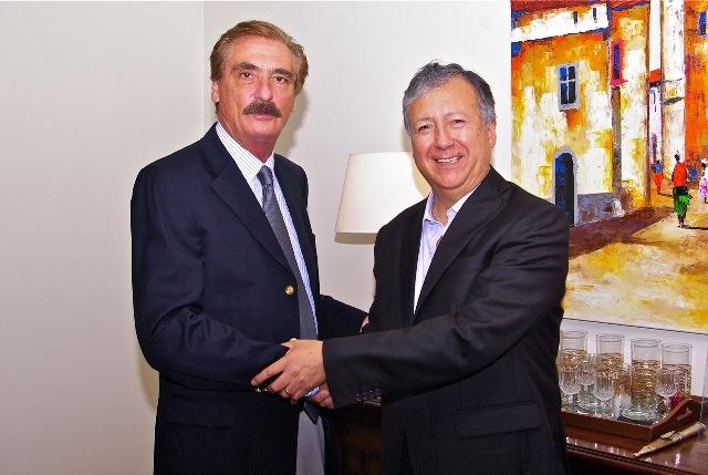 Lic. Enrique Rohde cederá la posta al Ing. Adolfo Samaniego en la gerencia general de ABB en Perú.