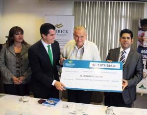 El Instituto Apoyo, promotor del programa Matemáticas para Todos, recibió un importante apoyo económico de Barrick