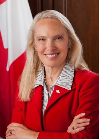 La Excelentísima Señora Patricia Fortier, embajadora extraordinaria y plenipotenciaria de Canadá, asumió hoy oficialmente su cargo al presentar sus cartas ... - patricia-fortier