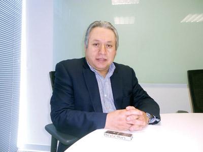 Carlos Santa Cruz, vicepresidente regional de Newmont Sudamérica.
