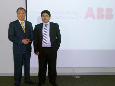 Adolfo Samaniego y Ricardo Begazo.