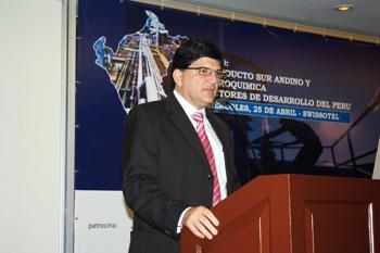 Gerente general de Kuntur, Luiz Fernando De Castro Santos.