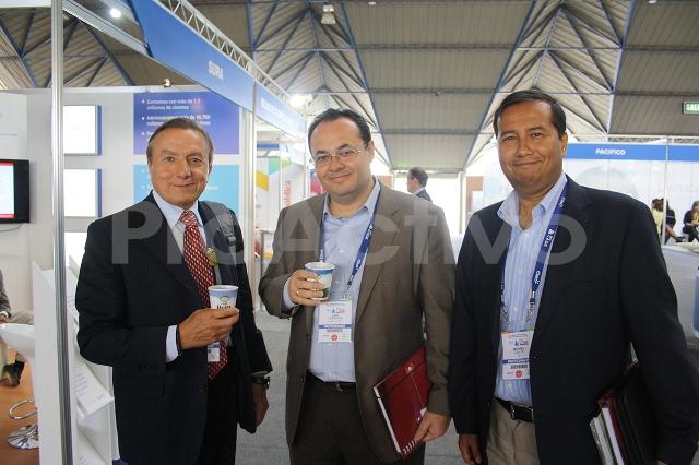 Carlos González-Taboada, Luis Carranza y Michel Canta