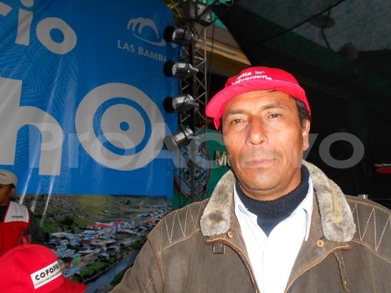 Alcalde de Haquira, Rolando Curitumay Zegarra