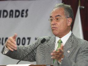 Manuel Bernales, presidente de la Mesa de Diálogo de Quellaveco.