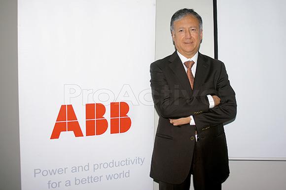 Adolfo Samaniego, gerente general de ABB Perú.