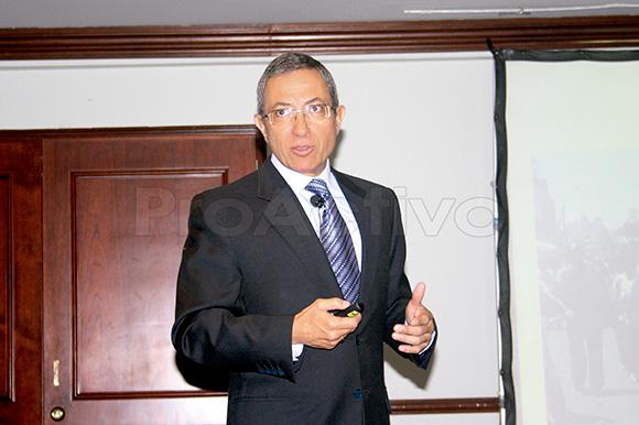Silvio Brigneti, vicepresidente de Recursos Humanos y Seguridad de Antamina.
