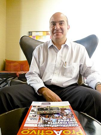 Xavier Ochoa, gerente de Antapaccay.