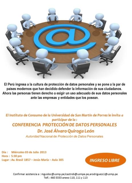 Afiche Protección de Datos Personales